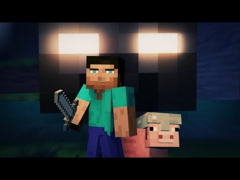 """Cube Land"" – A Minecraft Music Video – Original Song by Laura Shigihara (PvZ Composer)"