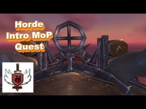 Horde Mists of Pandaria Intro Quest Line – WOWHOBBS – World of Warcraft (gameplay/commentary)