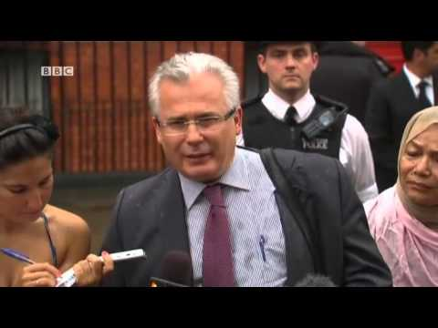 BBC News HD – Julian Assange makes statement outside Ecuadorean embassy 'in fighting spirit' 2012