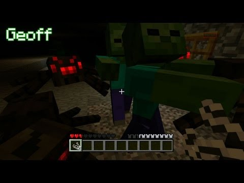 Let's Play Minecraft Episode 12 – With Geoff, Gavin, Michael, Ray and Jack