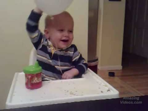 Baby Laughs his Head off!