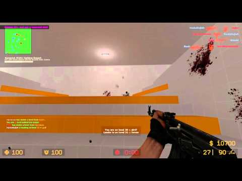 Counter Strike Source Gun game with Sp00n ep 6