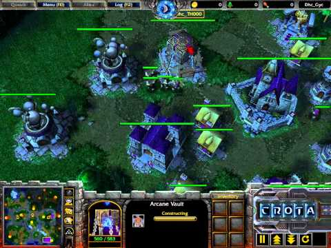 Th000 (HU) vs Xiokia (UD) – Bonus Cast – WarCraft 3 –