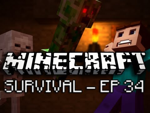 Minecraft: Survival Let's Play Ep. 34 – Bugs
