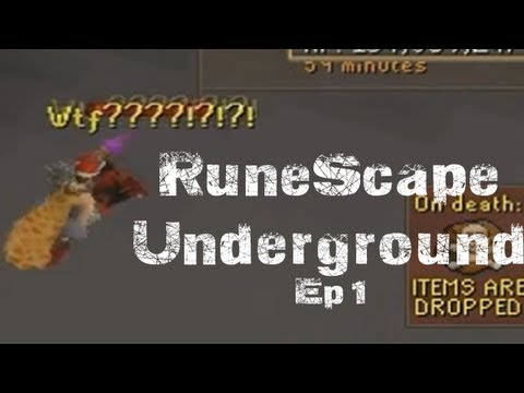 RuneScape Underground – Ep.1 How to lose a Purple Party Hat