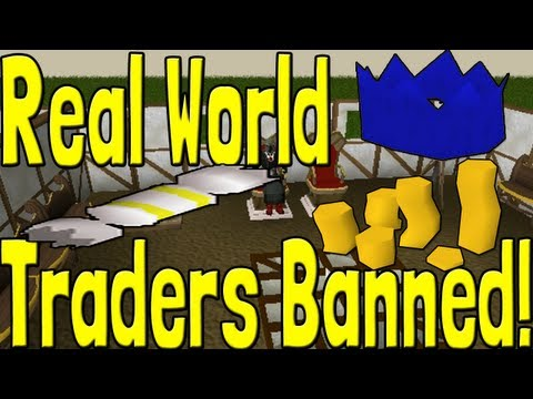 Runescape High Profile Real World Traders Banned! Effects On Rares