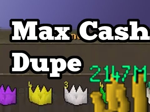 RuneScape Legendary Glitches – Max Cash Duplication