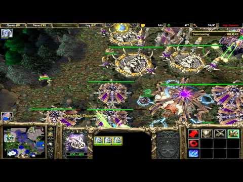 Warcraft 3 – ROC – 3.8 – Undead; Path of the Damned – Chapter Eight – Under the Burning Sky