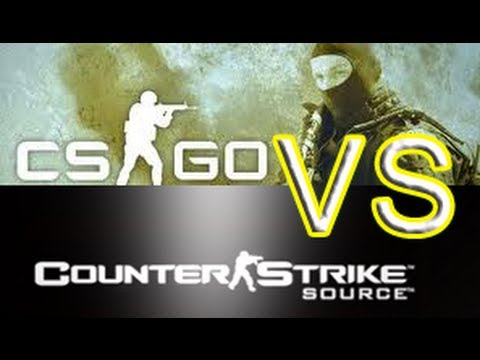 Counter Strike: Global Offensive vs Counter Strike: Source (CS:GO – Gameplay Commentary)