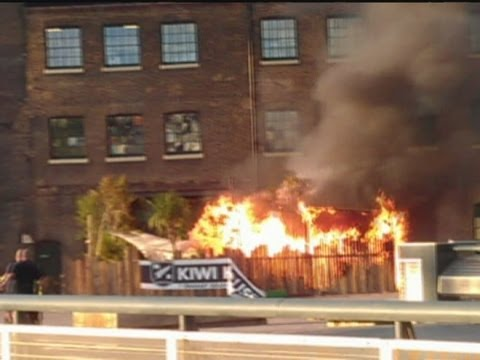 Kiwi house: Fire at New Zealand's Olympics 2012 hospitality venue