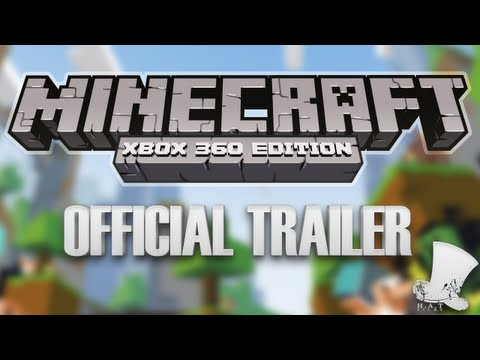 Minecraft for Xbox 360 Official Trailer