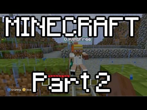 Let's Play Minecraft Part 2