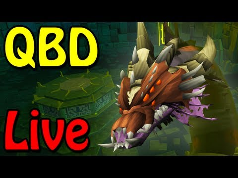 Queen Black Dragon LiveStream – RuneScape Update – QBD Boss Fight w/ RuneShark
