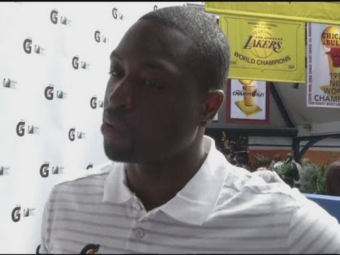 Dwyane Wade defends Team USA basketball and LeBron James at 2012 Olympics