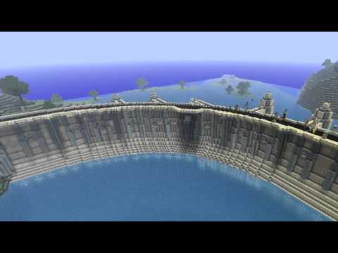 Minecraft Timelapse – The Dam