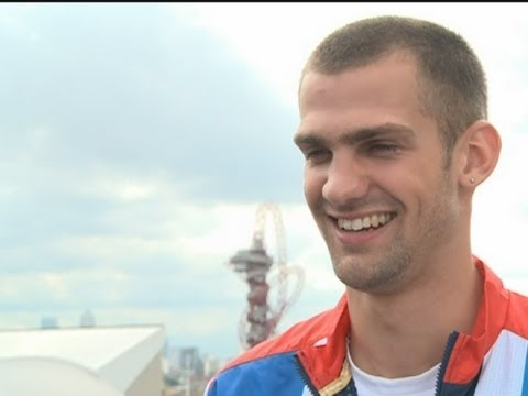 High jumping medallist Robbie Grabarz 'ready to party hard' after London 2012