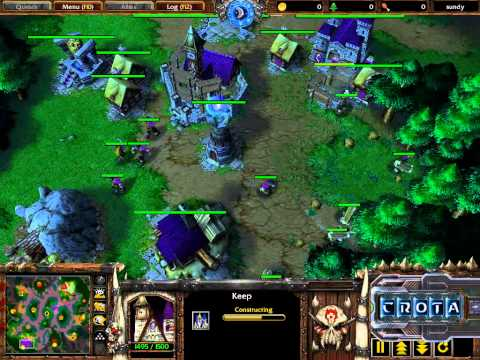 Th000 (HU) vs Fly (Orc) – G2 – WarCraft 3 – WC226
