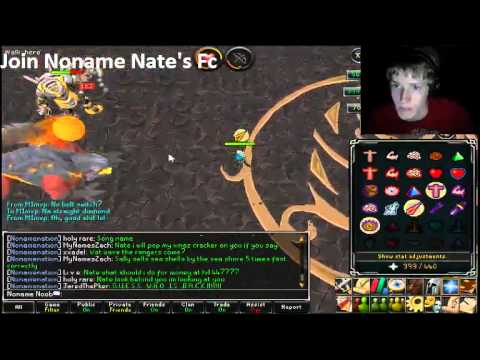 Runescape Fight Cave On A 1 Defence Pure Livestream Footage (DOUBLE FAIL)