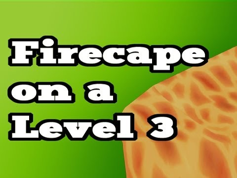 RuneScape Legendary Glitches – Level 3 with Firecape