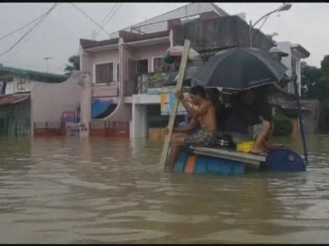 Massive flood: Philippine capital Manila inundated after 11 days of torrential rain
