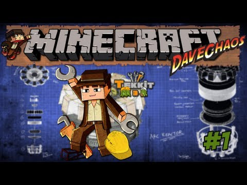 Minecraft Tekkit – Dave's SSP: And So it Begins #1