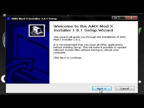 How To Install AMX MOD X On CS 1.6
