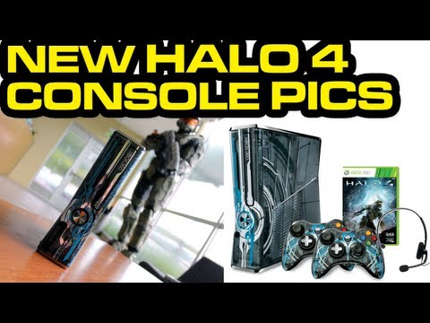 Halo 4 News – NEW Limited Edition Console Images and Info + Avatar Prop Giveaway