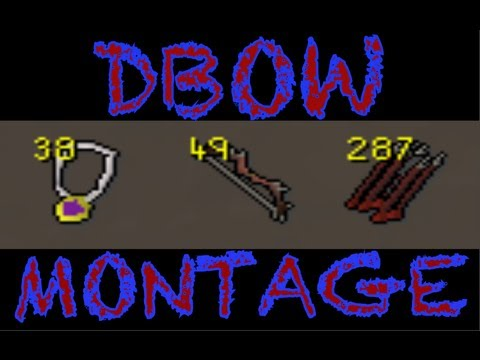 Runescape DBOW Montage | DFS DESTRUCTION | 25+ DBOWS PKED | Part 1