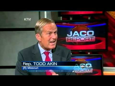 Todd Akin Refuses to Drop Out of Race