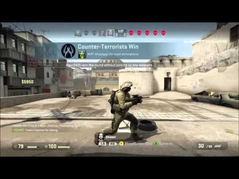 Firt Counterstrike GO game ever live commentary