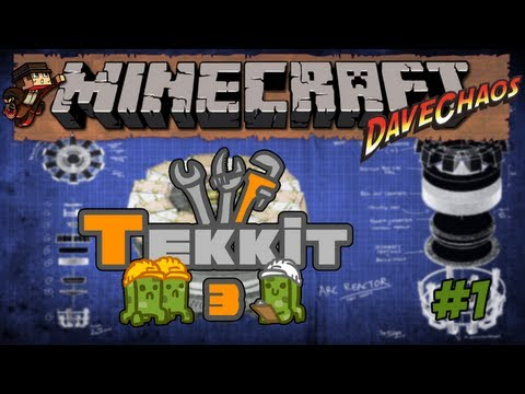 Minecraft Tekkit – A New Beginning #1