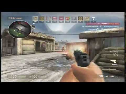 The Game Modes Of Counter Strike: GO Xbox 360 [Gameplay+Commentary]