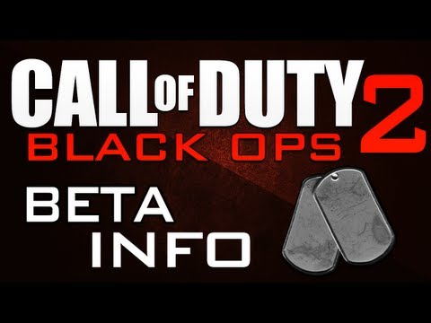 "BO2 News & Info – ""Black Ops 2 BETA"" – BETA in BO2?!?"