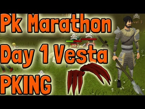 Pk K1n9 5 Runescape Pk Marathon Day 1 High Risk Full Vesta|Chaotic Rapier|D Claws Pking Commentary