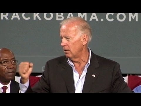 Joe Biden's 'Back in Chains' Comment Draws Mitt Romney's Outrage