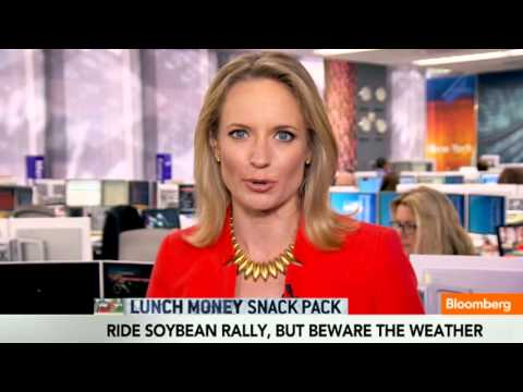 Snack Pack: Soybean Rally, Euro, Dell, Stock Highs