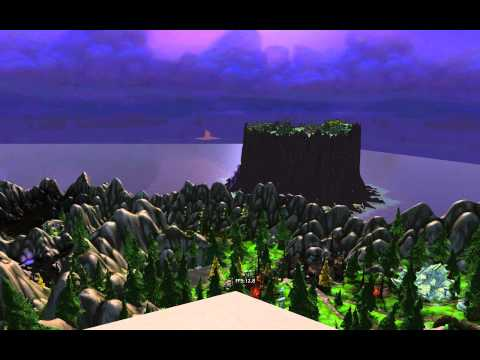 World of Warcraft – 2560×1600 at 15000 view distance with no fog using Machinima Tool 3.24