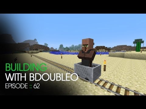Minecraft Building with BdoubleO – Episode 62 – Twice Engaged