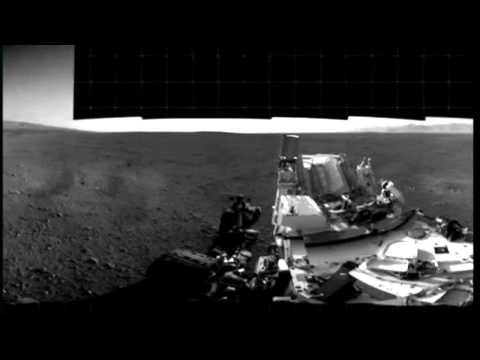 NASA's Mars Curiosity rover prepares for first test drive