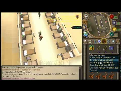 [100 Billion GP/H] Duplicating GP – RuneScape Glitch