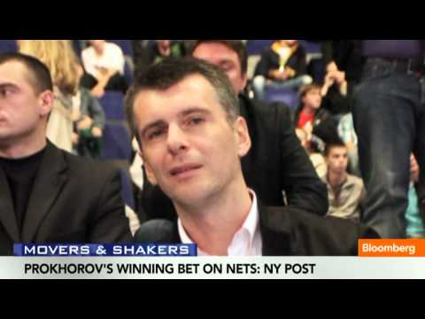 Prokhorov Gets Double His Investment in Bet on Nets