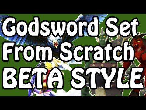 The Godsword Set From Scratch Challenge – RuneScape Combat Beta