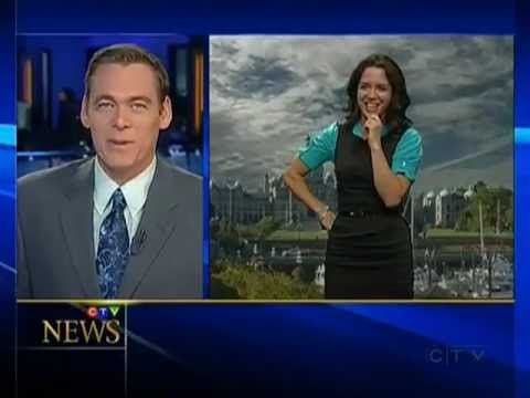 Anchorman Canoodling News Blooper
