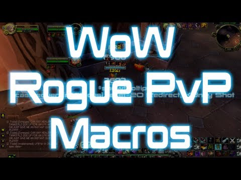 ♣ Sensus – World of Warcraft Rogue PvP Macros Guide (WoW Rogue PvP Macros Guide)