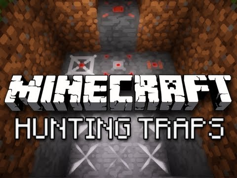 Minecraft: Punji Pits, Invisible Pressure Plates, And More – Hunting Traps Mod Showcase