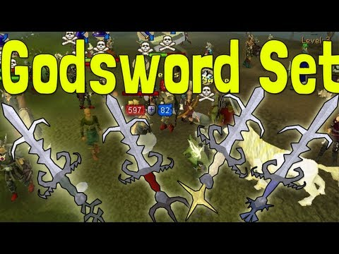 Pk k1N9 5's Runescape High Risk Full Statius Godsword Set Pking With Commentary