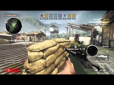 Counter Strike Global Offense Gun Game (Arms Race) Xbox 360 FULL MATCH