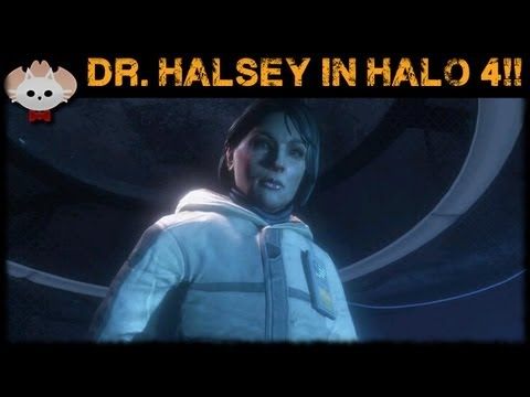 Halo 4 News – Doctor Halsey In Halo 4!!