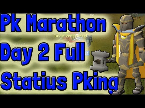 Pk K1n9 5 Runescape Pk Marathon Day 2 Full Statius Pking With Commentary