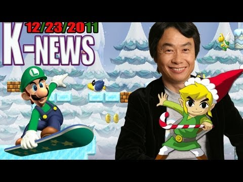 K-News – Wii U CES 2012, New Pokemon, Zelda Official Timeline & Dec recap!